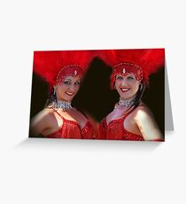 VIVA LAS VEGAS!! Greeting Card