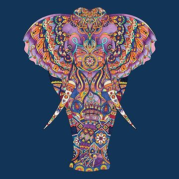 Elephant - Adult Colouring | COLOURING - ARTWORKS by mcaussieb