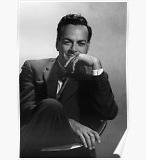 Richard P. Feynman, Theoretischer Physiker Poster
