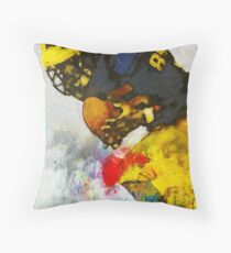 The Catch The Hands Throw Pillow
