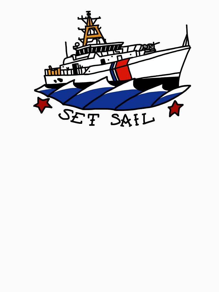 Coast Guard 154 Set Sail by AlwaysReadyCltv