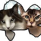 Perch Cats! by jordannelefae