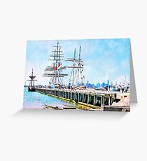 Stad Amsterdam - One And All - Enterprize Greeting Card