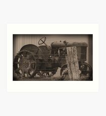 """Olden days"" Art Print"