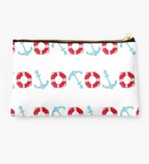 Anchor and lifesaver ring  Studio Pouch