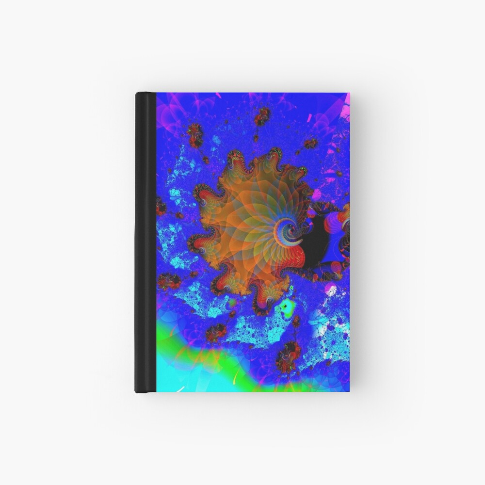 Seahorses Carousel Hardcover Journal