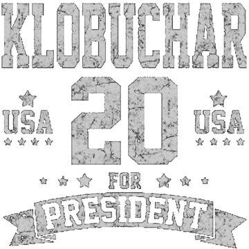 Amy Klobuchar for President, Klobuchar 2020 by jasonaldo00