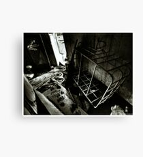 Death to abandoned #4 Canvas Print