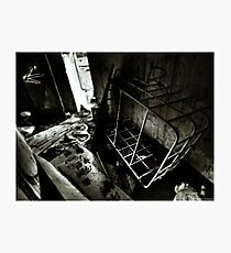 Death to abandoned #4 Photographic Print