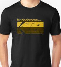 KODACHROME-FILM Slim Fit T-Shirt