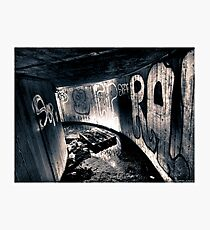 Death to abandoned #5 Photographic Print