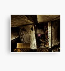 Death to abandoned #6 Canvas Print