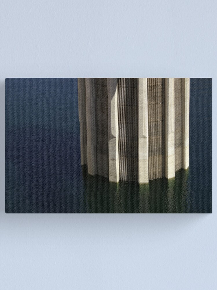 Alternate view of Hoover Dam Column Canvas Print