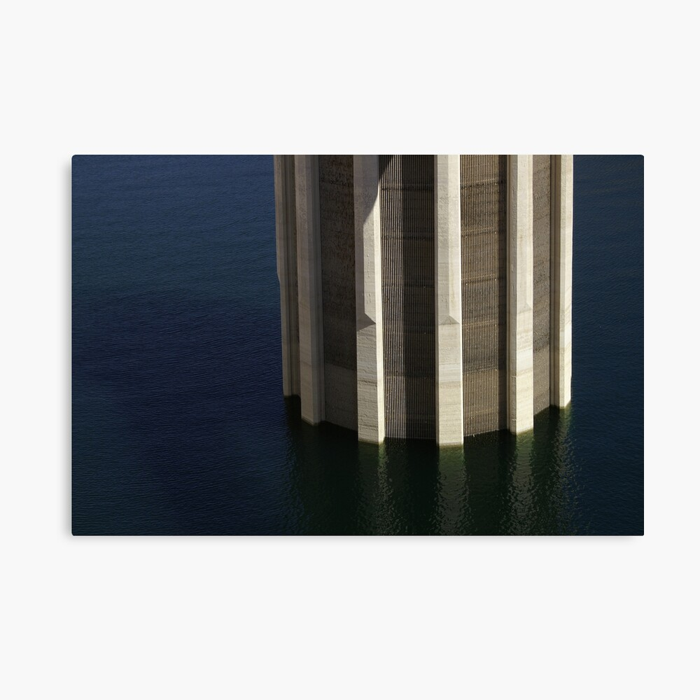 Hoover Dam Column Canvas Print
