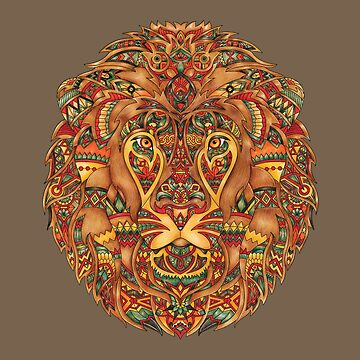 Lion  - Adult Colouring | COLOURING - ARTWORKS by mcaussieb