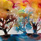 Drei Bäume von Marianna Tankelevich
