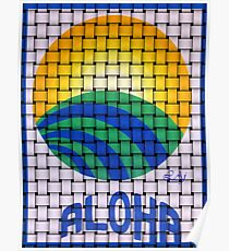 Aloha Hawaiian Flavor Poster