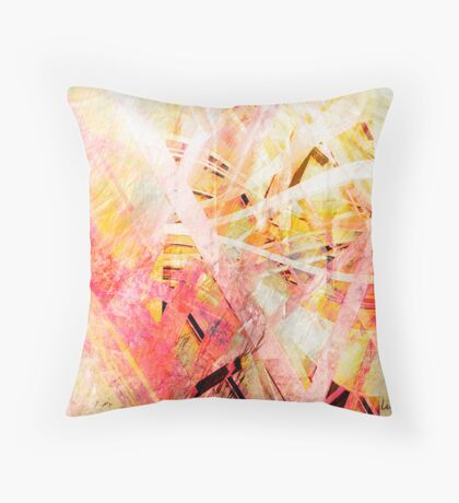 Finding Connection Throw Pillow