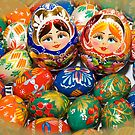 Ukrainian Easter Eggs by Tracy Riddell