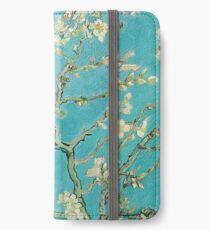 Mandelblüten von Vincent Van Gogh iPhone Flip-Case/Hülle/Klebefolie