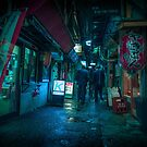 Tokyo Underworld by Guillaume Marcotte