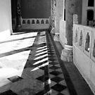 Topkapi Palace Shadows and Light by Barbara  Brown