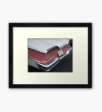 Edsel Backend Framed Print