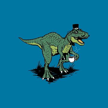 Tea Rex by Stevenmono