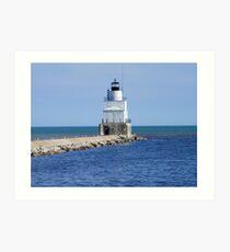 Manitowoc Breakwater Lighthouse Art Print