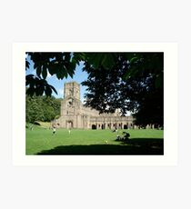 Fountains Abbey Art Print