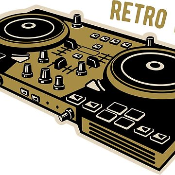 Retro Vinyl by Taz-Clothing
