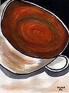 A cup of coffee by Elizabeth Kendall