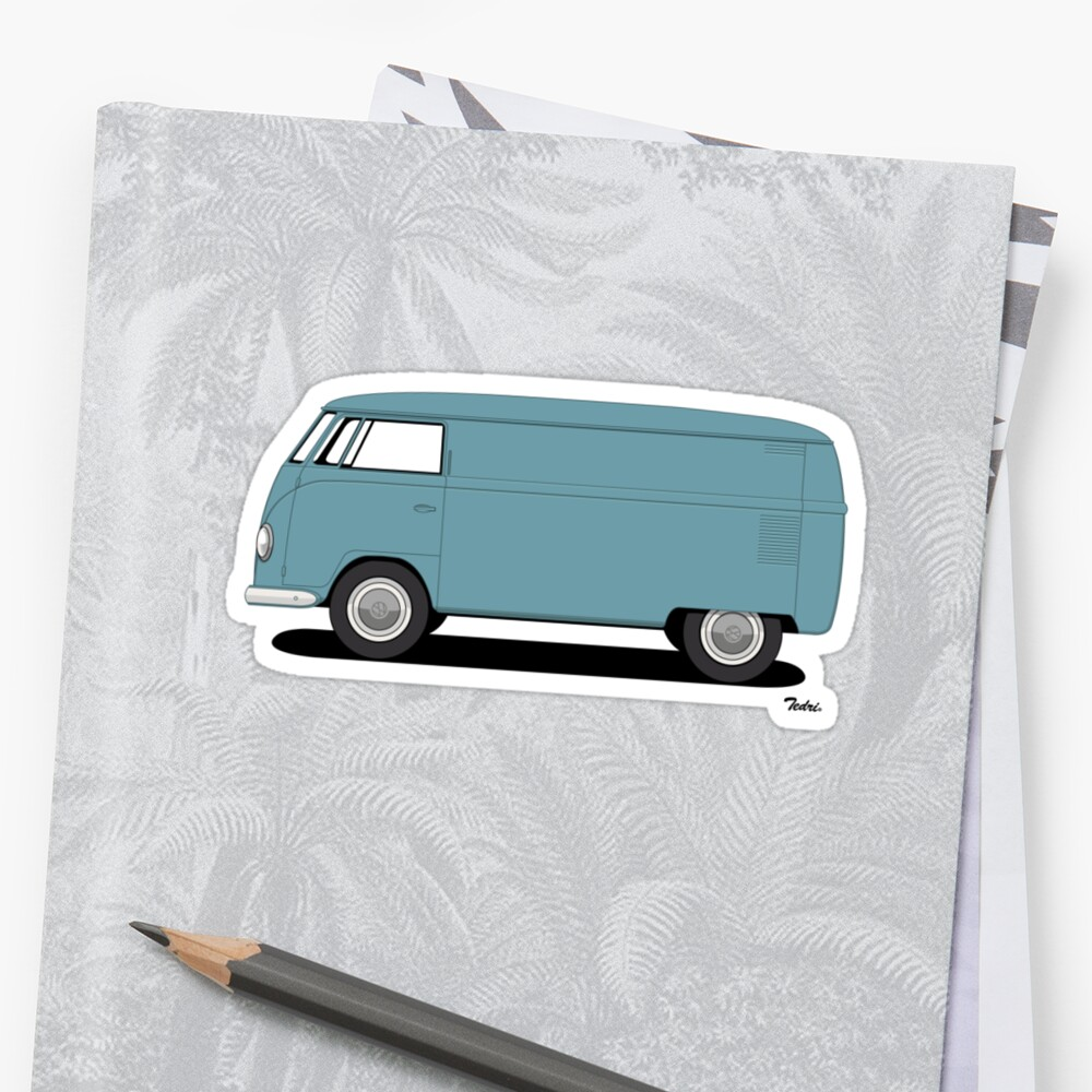 VW Barndoor Panel Van by Tedri