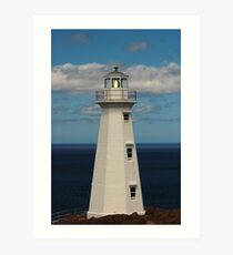 Cape Spear Lighthouse Art Print