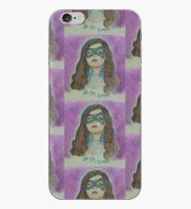 Nia Nal (Nicole Maines) sleeping iPhone Case