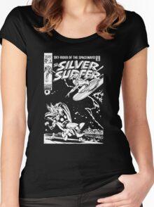 SILVER SURFER- JOHN BUSCEMA Women's Fitted Scoop T-Shirt