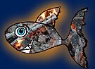 Fire Glow Fish by Juhan Rodrik