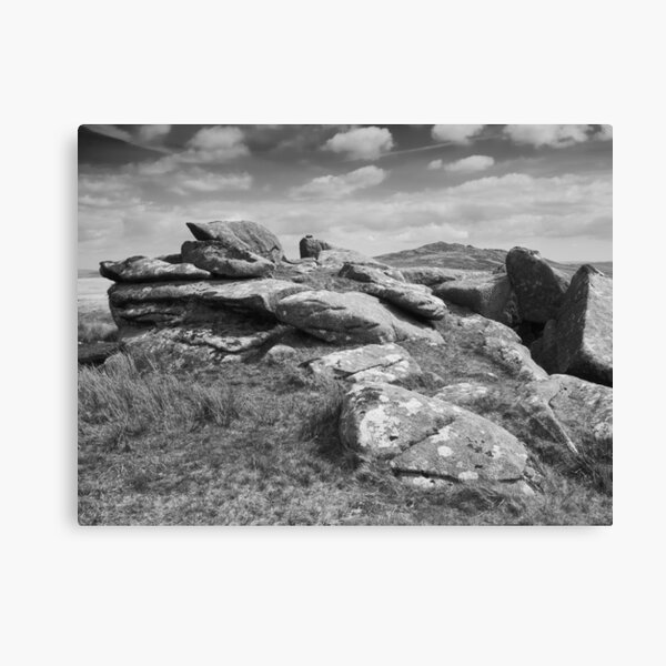 View of Brown Willy Tor Canvas Print