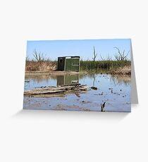 Gwydir Wetlands SCA Bird Hide Greeting Card