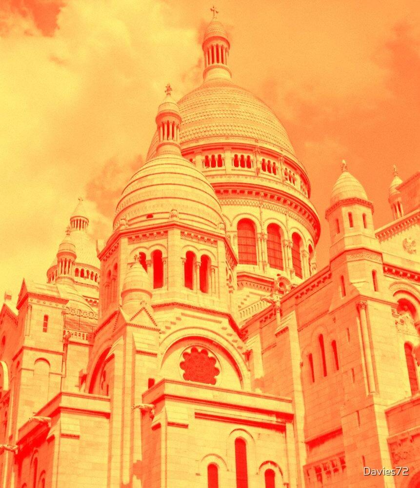 Sacre Coeur in Orange by Davies72