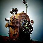 The Blumbergville Clock - Boonah, Queensland by Marilyn Harris