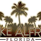 Lake Alfred Florida palm tree words by artisticattitud