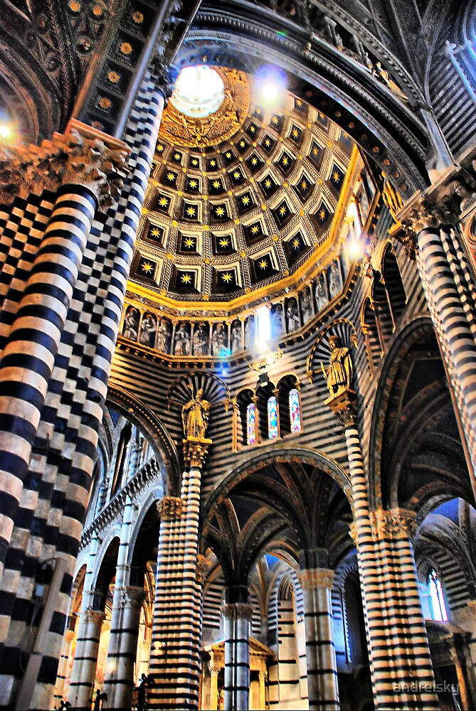 Quot Siena Cathedral Interior Quot By Andreisky Redbubble