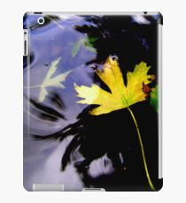 Leaves, Water, Reflection iPad Case/Skin