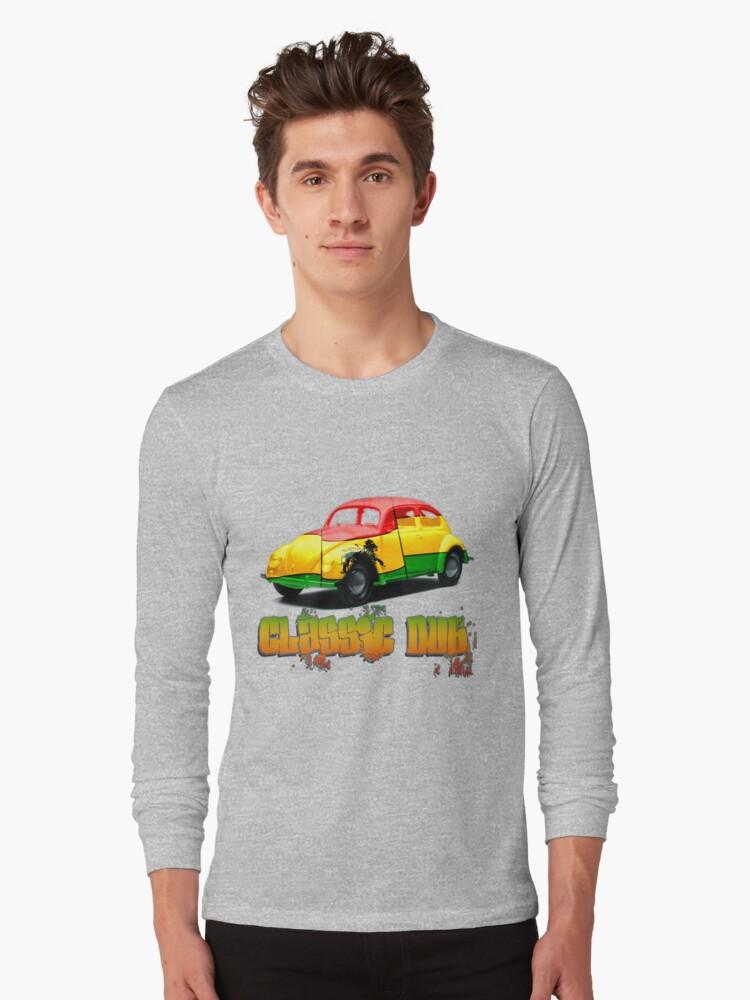 Classic Dub Rasta Beetle T-Shirt by jay007