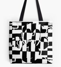 Monkey Maze Illusion Tote Bag