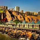 Lima Peru Coastal Scene Photo by DFLC Prints