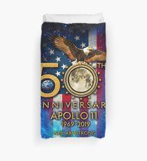 50th Anniversary Apollo 11 moon landing 1969-2019 Duvet Cover