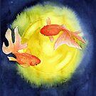 The Flying Goldfish  by Nahimsa