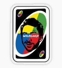 Wildcard Transparent Sticker